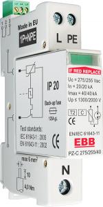 PZ-C 275-255-40-1P+NPE RC